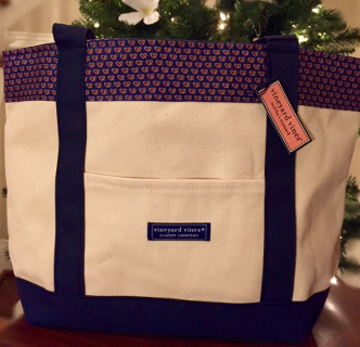 Vineyard Vines Tote (Blue)